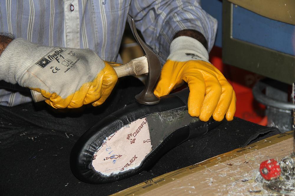 Ayakkabı İmalat Görüntüleri